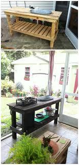 Patio Kitchen Pallet Patio Kitchen O Pallet Ideas O 1001 Pallets