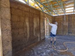 Choosing A Plaster System For Your Straw Bale House The Last - Plastering exterior walls
