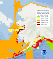 Ocean Charts Bc What Does The Age Of The Survey Mean For Nautical Charts