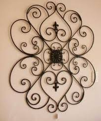 Small Picture Large Wrought Iron Wall Decor You Pick Colors Metal Wall Decor