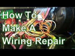 How To Fix and Repair Automotive <b>Wiring Harness</b> - YouTube