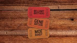The Bellamy Brothers Gene Watson And Moe Bandy Riverwind