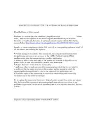 Cover Letter Template Journal 1 Cover Letter Template Writing