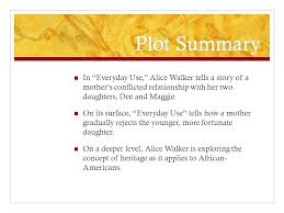 defining african american heritage ppt video online  plot summary in everyday use alice walker tells a story of a mother s conflicted relationship