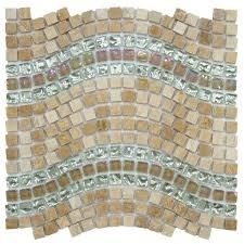 mosaic tile greensboro reflections wave glass stone and metal mosaic tile case of mosaic tile greensboro