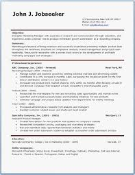 21 Blank Resume Template Pdf Examples Best Resume Templates