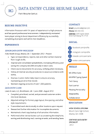 Skills On Resume Examples Skills Section On Resume Www Sailafrica Org