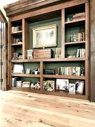 build wall shelves bookshelf units built in into i