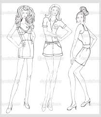 Small Picture 17 best A mannequin drawing for fashion design images on Pinterest