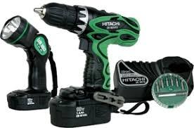 hitachi cordless drill. hitachi 18v cordless drill kit \u0026 flashlight c/w 2 x battery charger, hitachi