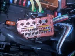 vehicle electric repairs car electrical faults car diagnostics citreon c3 electrical fusebox wiring damage
