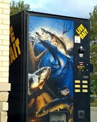 Used Live Bait Vending Machine For Sale Classy 48 Weird Vending Machines Walyou