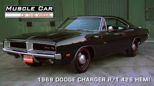 Muscle Car Of The Week Episode #90: 1969 Dodge Charger R/T 426 ...