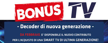 Bonus TV 2020 - Focelda.it - Distributore prodotti informatici