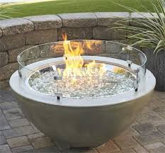 outdoor fire pit glass chips best of 17 best ideas about glass fire pit on