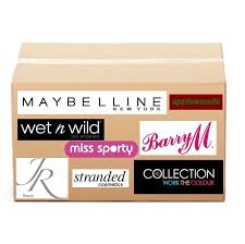 dels about 50 mixed cosmetics makeup whole party bag wedding favor gift maybelline uk