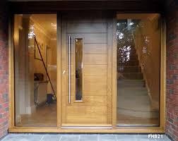 external oak doors and frames uk. contemporary oak door and frame glazed sidelights external doors frames uk
