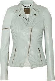muu baa muubaa lyra leather biker jacket