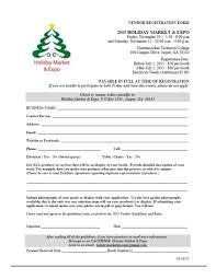 Vendor Application Forms Contracts Craft Fairs Vendor Events