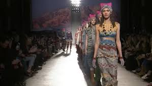 Models wear pink protest hats at Milan Fashion Week show TheHill