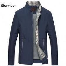 Casual Fashion Slim Fitted Autumn Jacket for Men ...