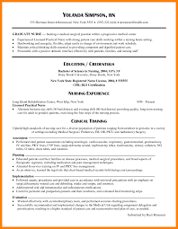 Resume Templates For Doctors Resume New Graduate Nursing Template Sample Grad Doctors Signature 17
