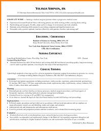 Resume New Graduate Nursing Template Sample Grad Doctors Signature