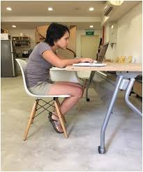 Checking in on your desk-bound posture – with Amie Wang | Woolf ...