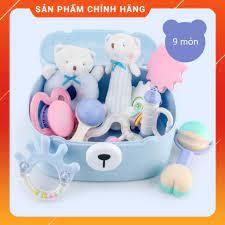 Mua SET đồ chơi phát triển kỹ năng cơ bản cho bé dưới 1 tuổi Gorygeo Baby  Hàn Quốc chỉ 289.000₫