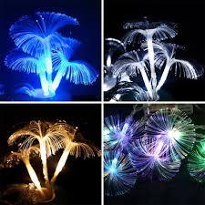 Fiber Optic Blossom Led String Lights 2 83 2 5m 10led Fiber Optic Trumpet Flower Led String