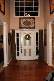front door curtains. Entry Door Curtains An Option For Over Those Windows Next To The Front Add .