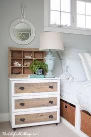 ikea tarva dresser hack faux linen. Wonderful Linen Ikea Tarva Hack  My New Night Stands The Lilypad Cottage And Dresser Faux Linen