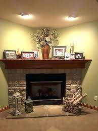 corner fireplace designs with stone design ideas pictures 2