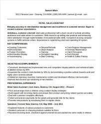 Sales Skills Resume Best 60 Sample Retail Sales Resume Templates PDF DOC Free Premium