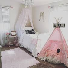 Little Girls Bedrooms Farmhouse Style Pink And White Vintage Little Girls Room Decor