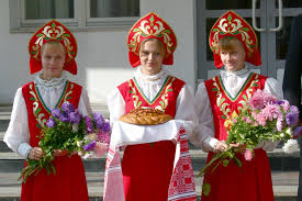 traditional russian b and salt karavai eastern europe  russian culture and traditions traditional russian b and salt karavai