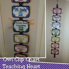 Owl Behavior Clip Chart Owl Themed Behavior Management Clip Chart Teaching Heart Blog