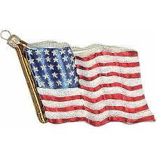 Christbaumschmuck Amerikanische Flagge