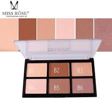 miss rose bronzer contouring powder concealer cream palette full cover face makeup kit glow highlight palette makeup iluminador best makeup highlighter