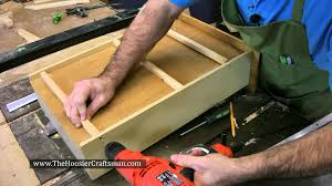 Drawers Or Cabinets In Kitchen Diy Kitchen Cabinet Drawer Repair Youtube