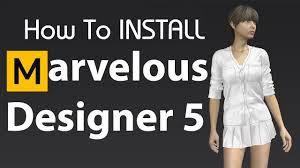 Marvelous Designer 5 Crack How To Install Marvelous Designer 5 Full Version