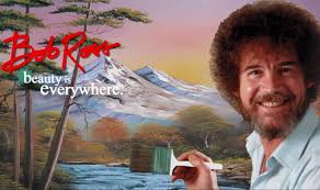 now streaming calming painter bob ross to remind us that it s totally fine to be friends with a tree the independent