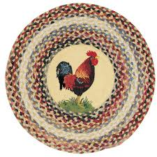 capel somewhere in time round ella s rooster rug