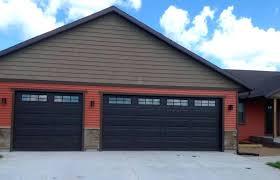 10 x 9 garage door x 8 9 x 8 doors walnut finish long panel with