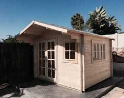 garden shed office. Pre Fabricated Natural Wood Cabin Kits Can Be Used As: Guest House, Office, Garden Shed Office