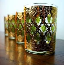 vinatge culver glassware patterns