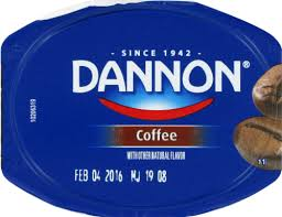 Dannon light & fit non fat yogurt. Mariano S Dannon Coffee Yogurt 6 Oz