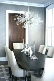 chandelier height above table chandeliers dining size room standard of kitchen