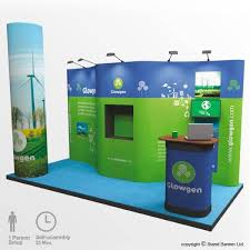Display Stands For Exhibitions Mesmerizing Exhibition Display Pop Up Stand 322m X 32m Stand Banner