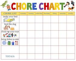 Family Chores Chart Google Search Chore Chart Kids